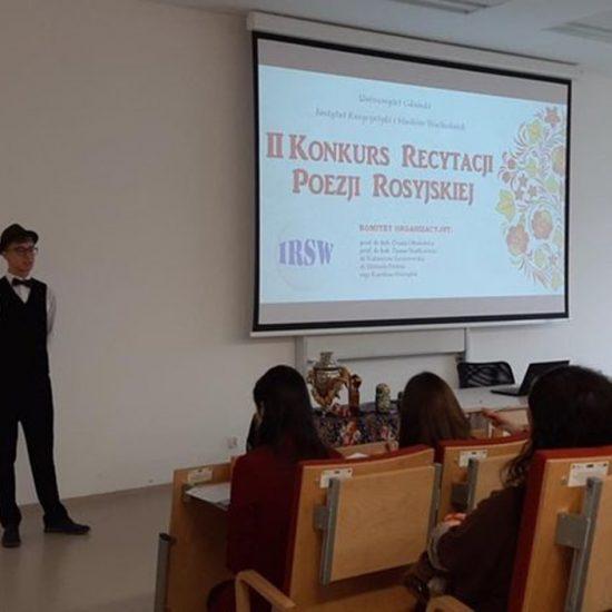 Konkurs Recytacji Poezji Rosyjskiej